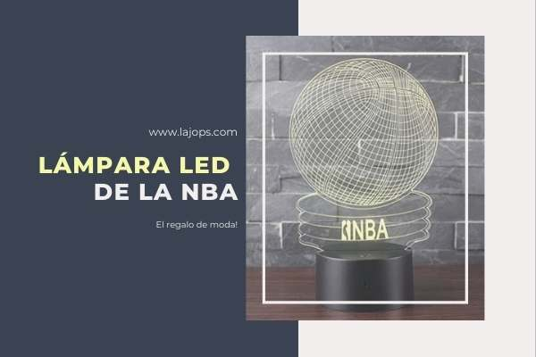 LÁMPARA LED DE LA NBA